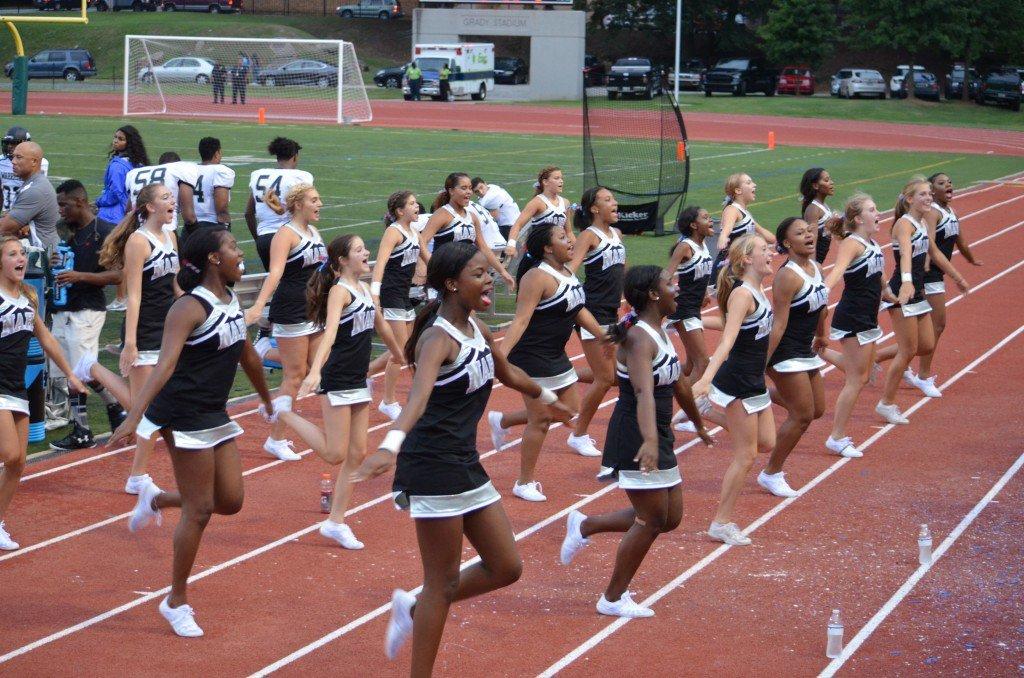 NAHS Cheerleaders